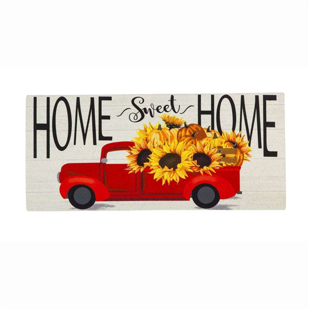 Harvest Red Truck Sassafras Switch Mat