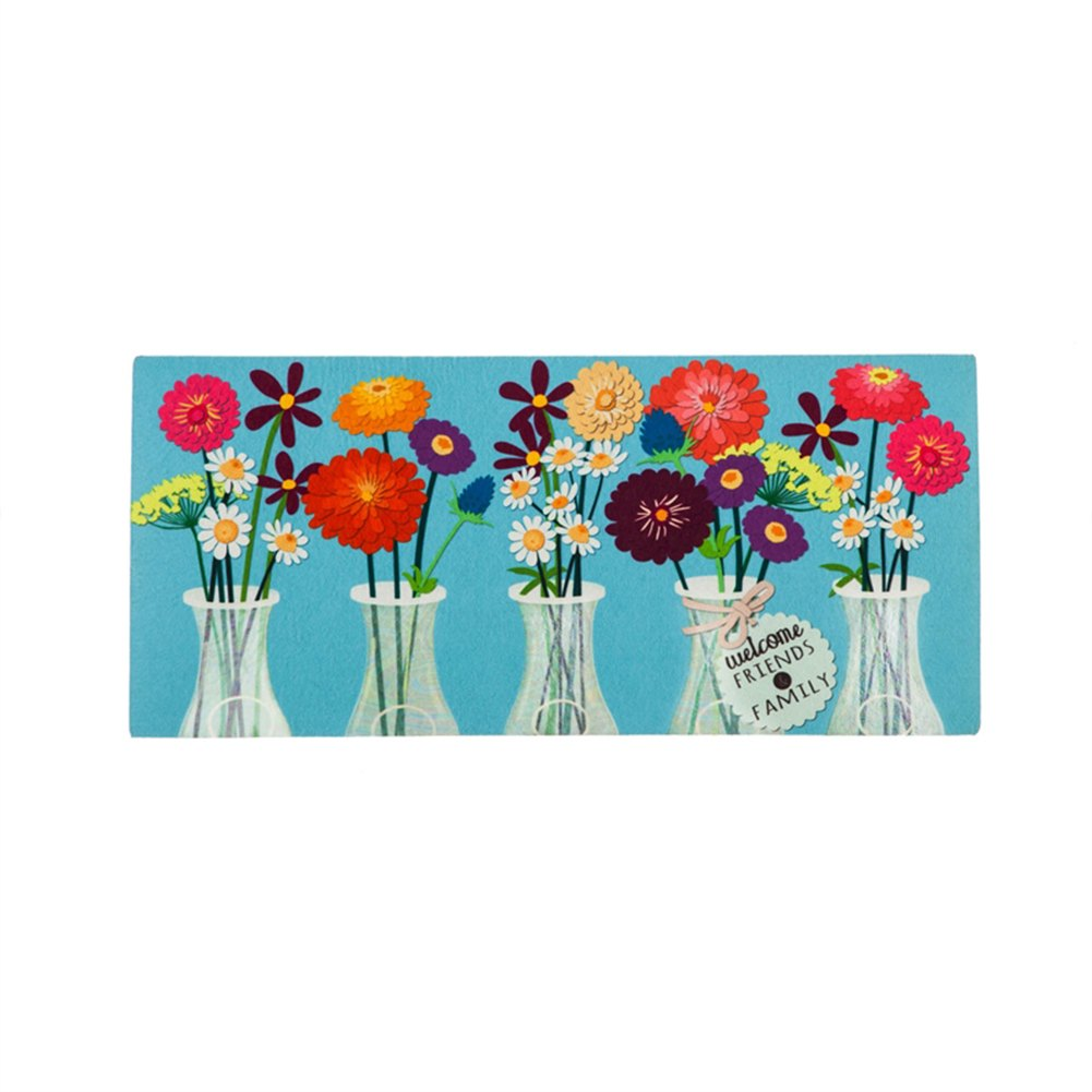 Floral Milk Bottles Sassafras Switch Mat