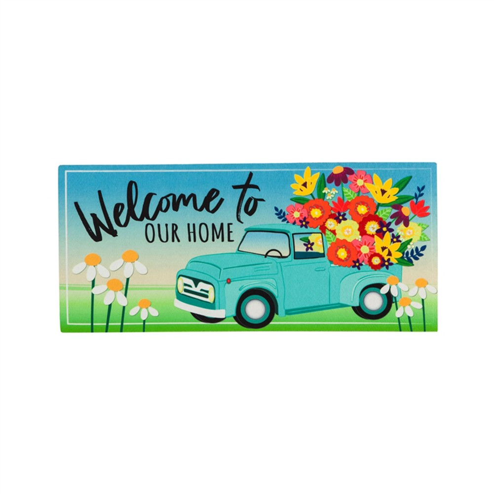 Mint Flower Truck Sassafras Switch Mat
