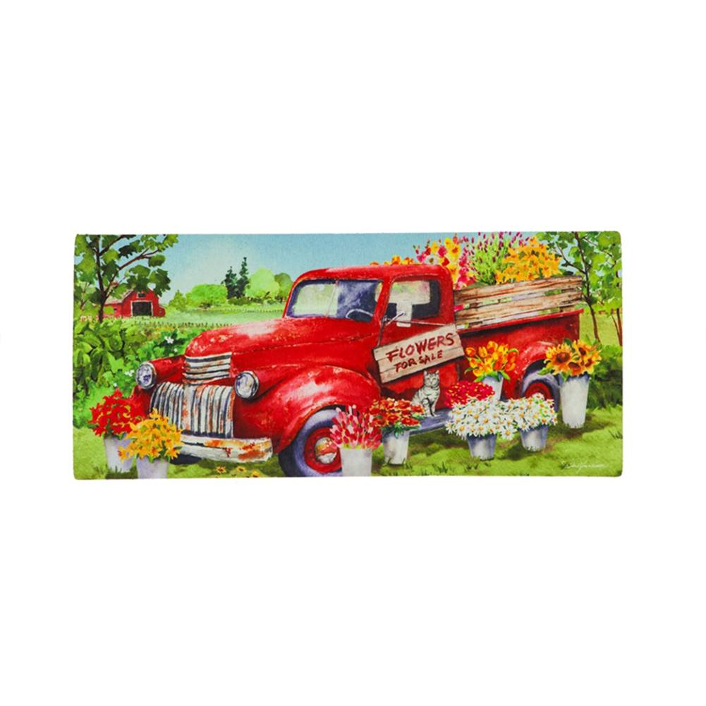 Red Flower Truck Sassafras Switch Mat