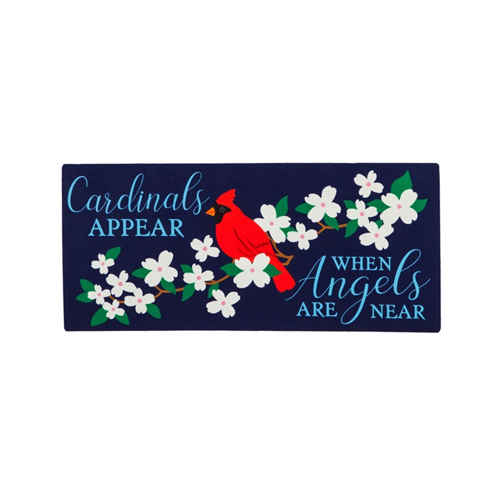 Cardinals Appear Sassafras Switch Mat