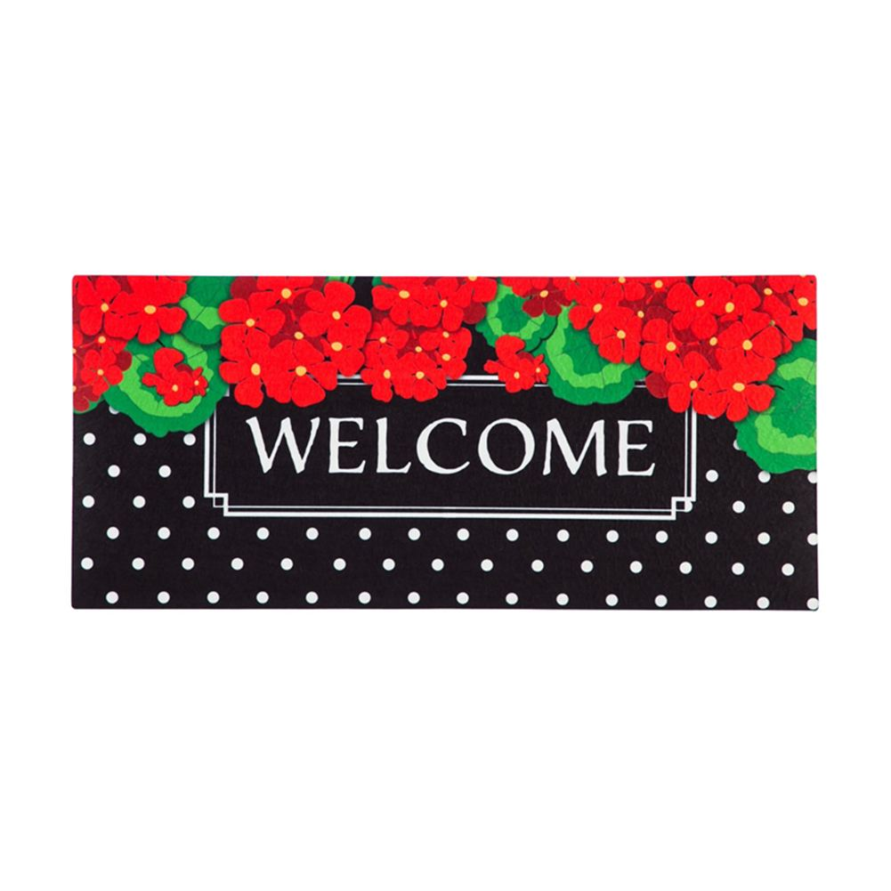 Geranium Polka Dot Sassafras Switch Mat
