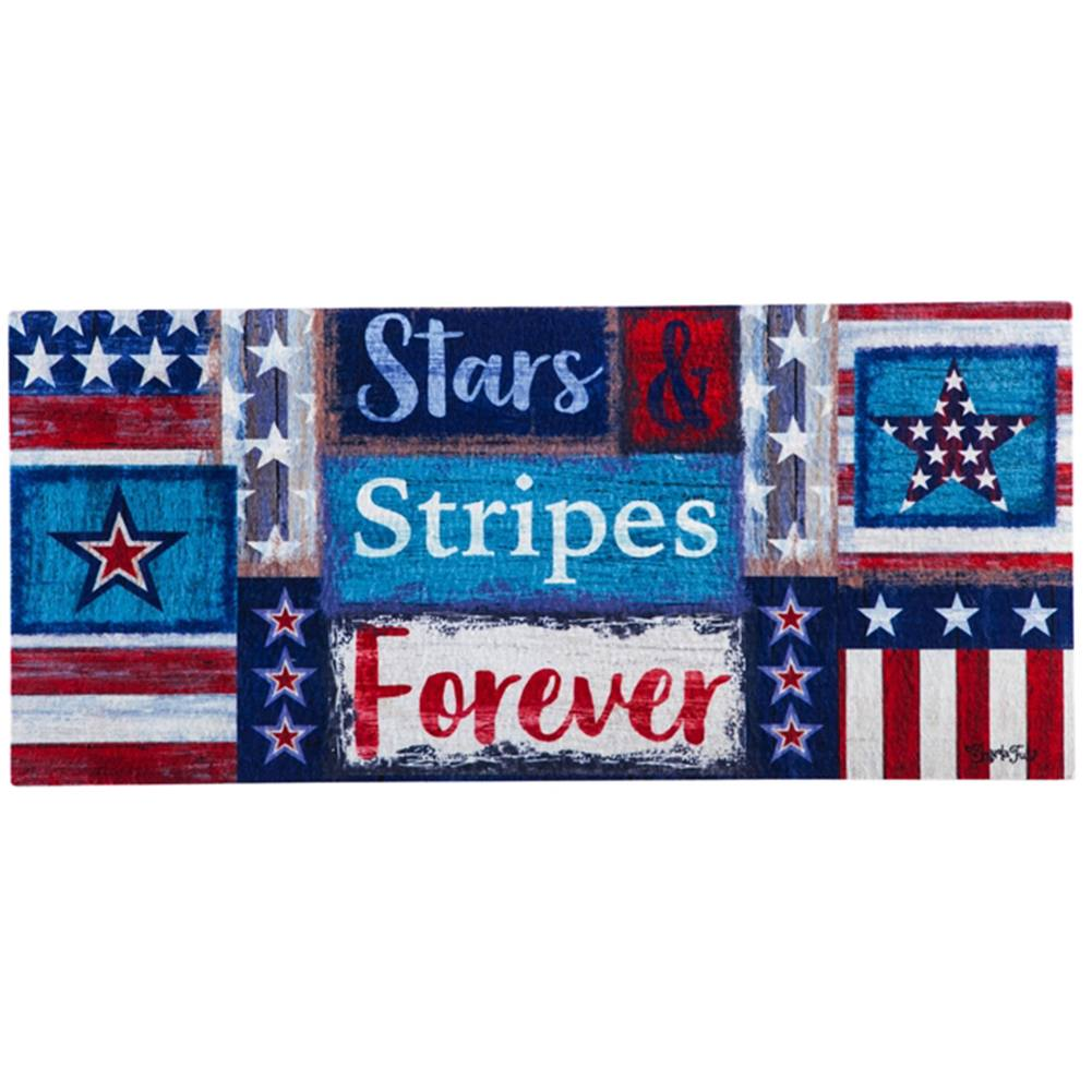 Stars and Stripes Forever Sassafras Switch Mat