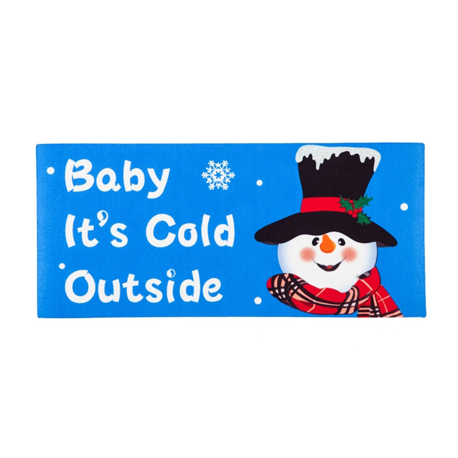 Baby It's Cold Outside Sassafras Switch Mat