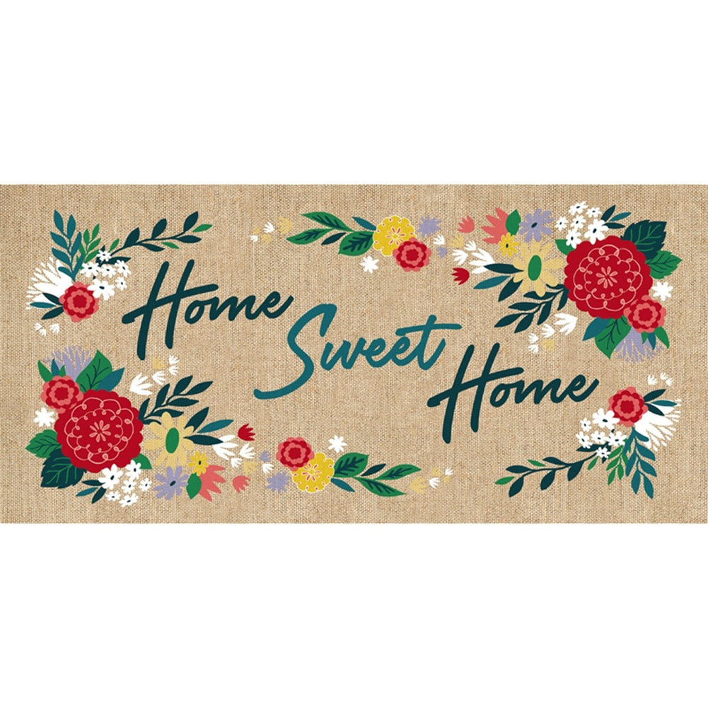 Floral Home Sweet Home Sassafras Switch Mat