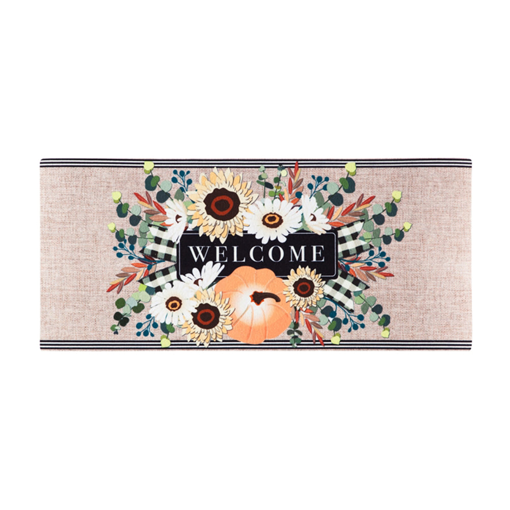 Autumn Floral Swag Sassafras Switch Mat