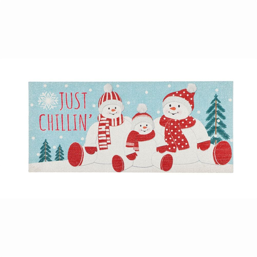Just Chilin Snow Family Sassafras Switch Mat