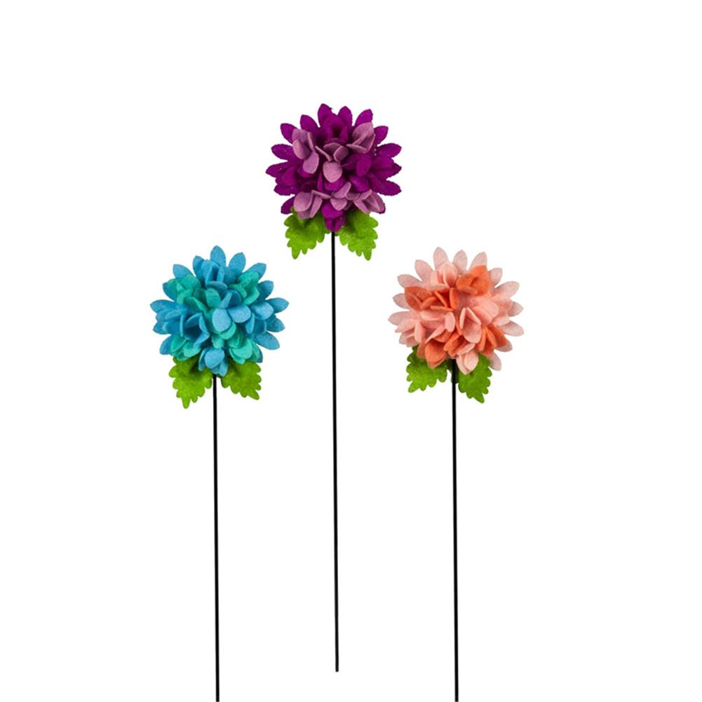 Two-Tone Hydrangeas Forever Plant Sticks (3/pack)