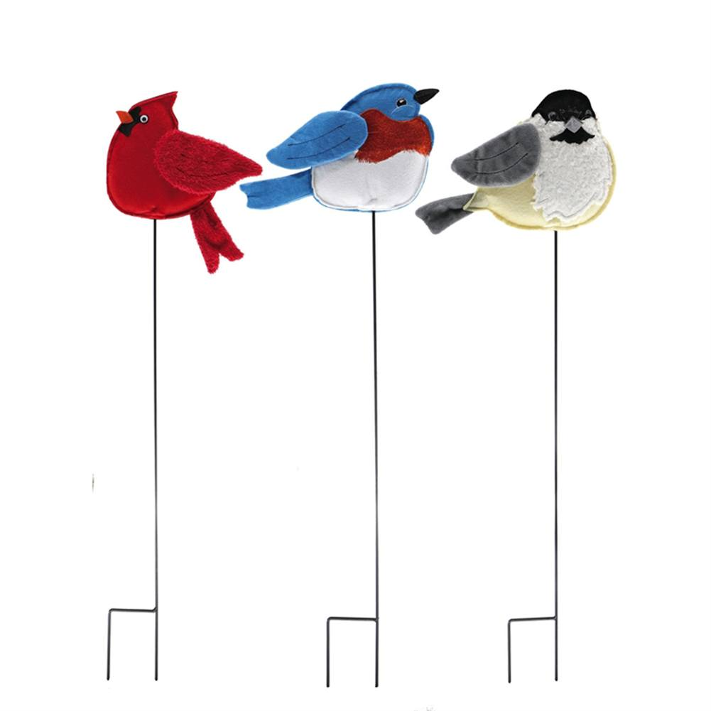 Porty Birds Forever Fabric Stakes (3/pack)