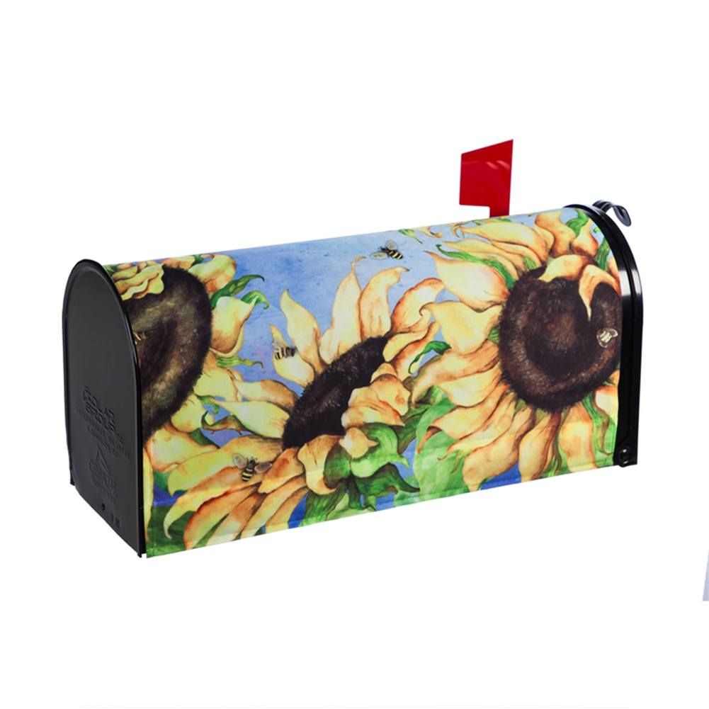 Sunflowers Mailbox Cover