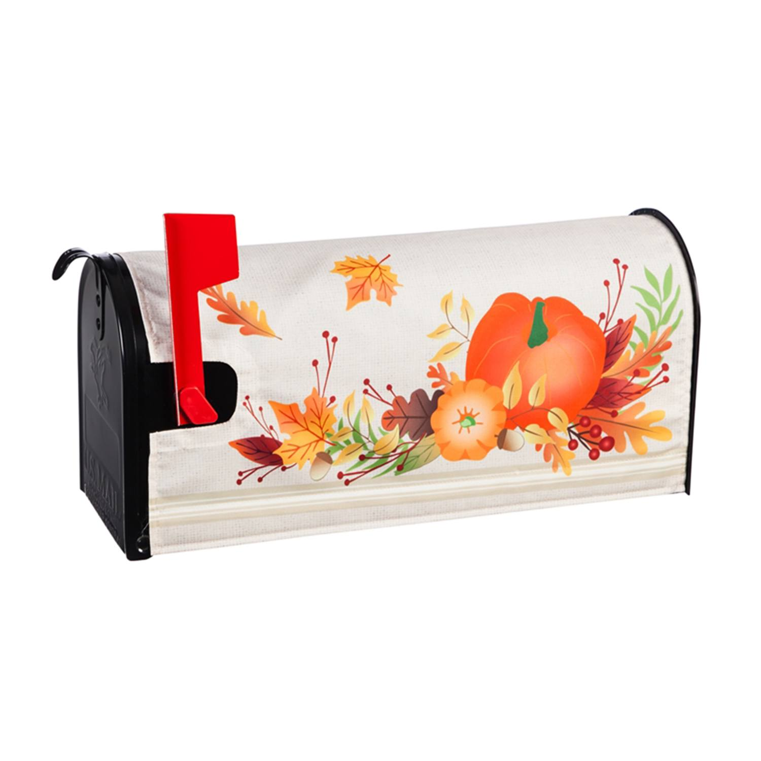 Autumn Gather Mailbox Cover