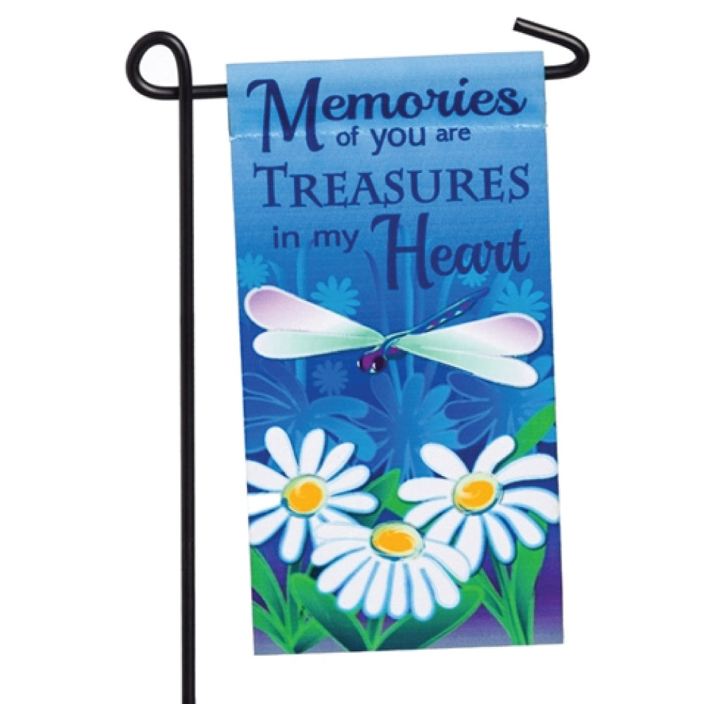 Treasures In My Head Memorial Mini Flag