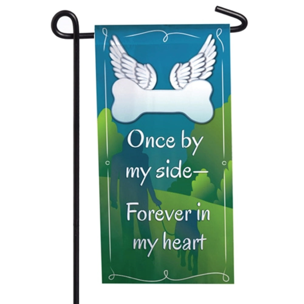 Forever In My Heart Memorial Mini Flag