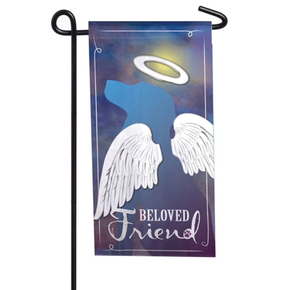 Beloved Friend Memorial Mini Flag