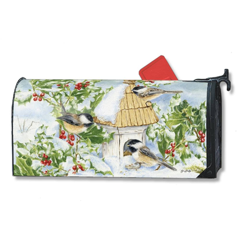Chickadee Welcome Mailwrap