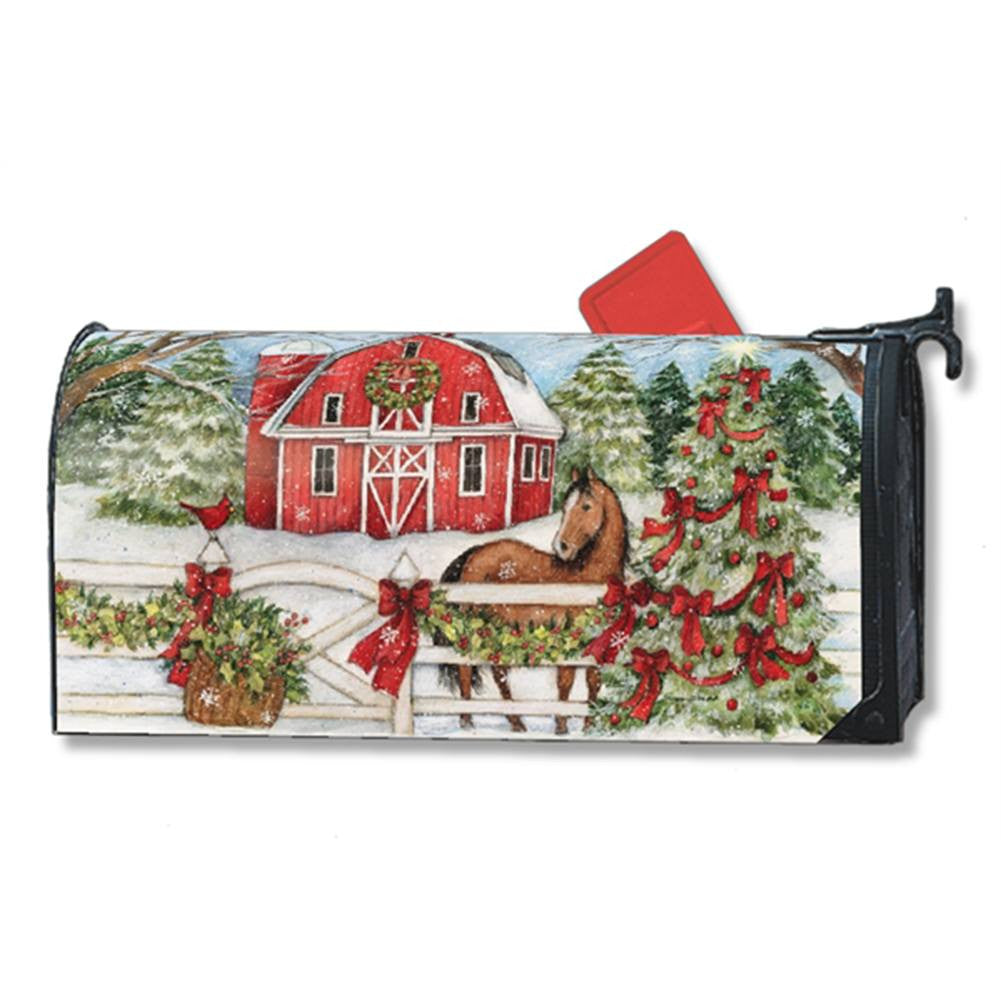Christmas on the Farm Mailwrap