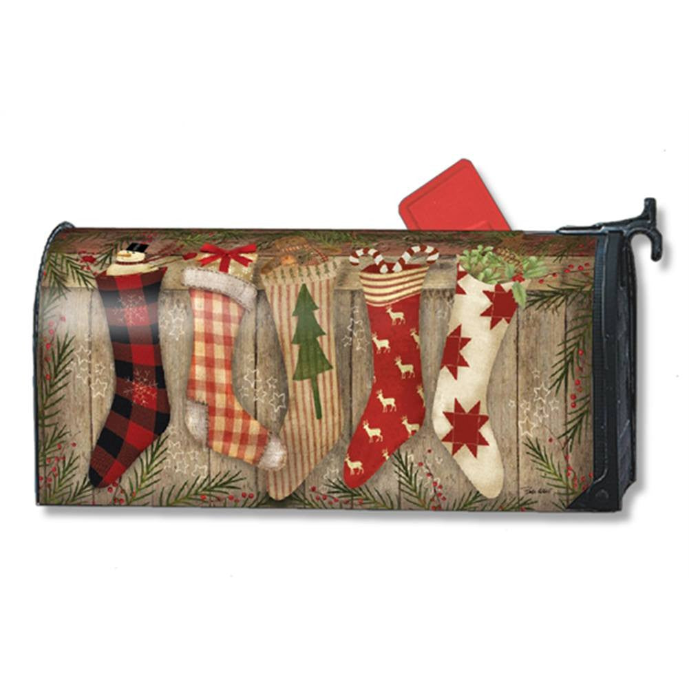 Christmas Stockings Festive Mailwrap
