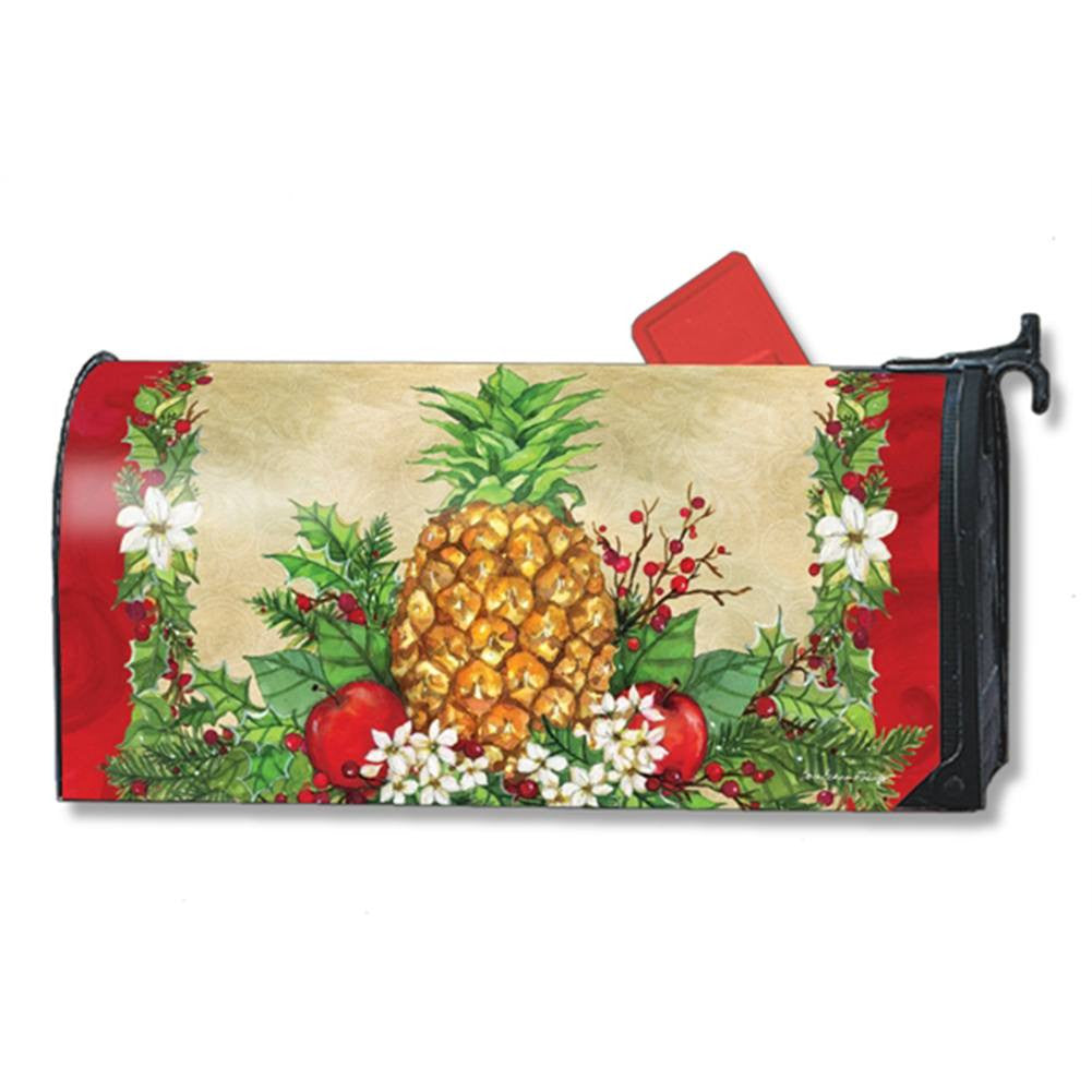 Holiday Pineapple Holly Mailwrap