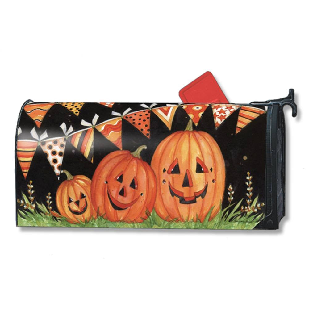 Party Time Pumpkins Mailwrap