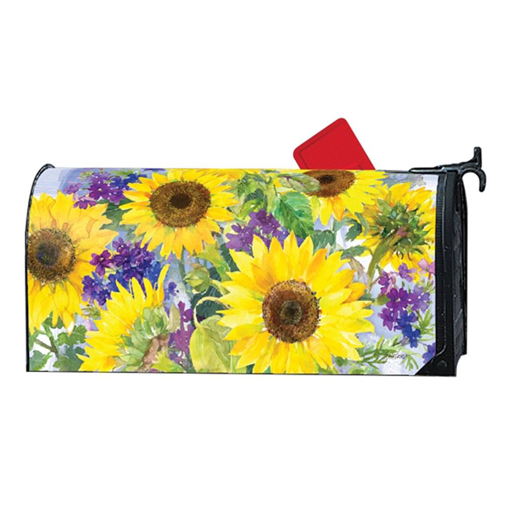 Sunflower Burst Mailwrap
