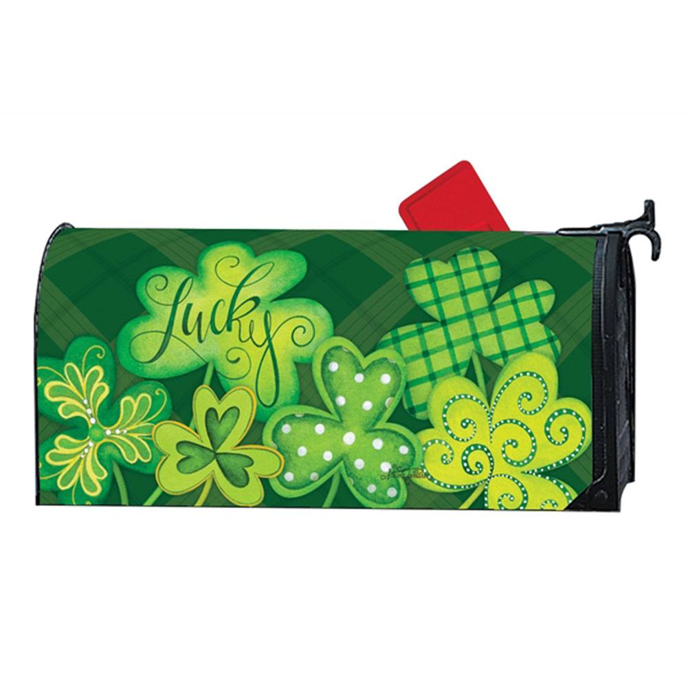 Lucky Shamrocks Mailwrap