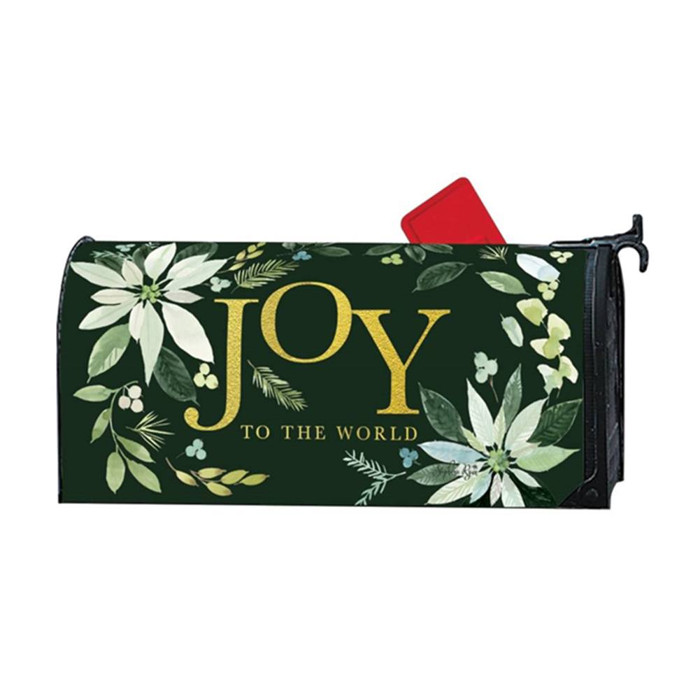 Poinsettia Joy Mailwrap