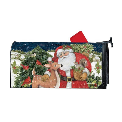 Christmas Magic Santa Friends Mailwrap