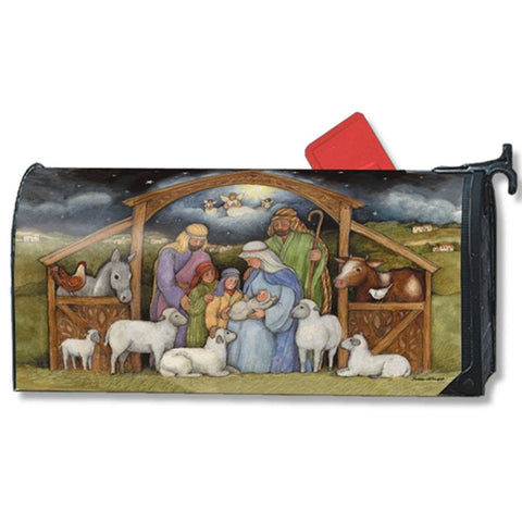 Holy Family Nativity Large Mailwrap