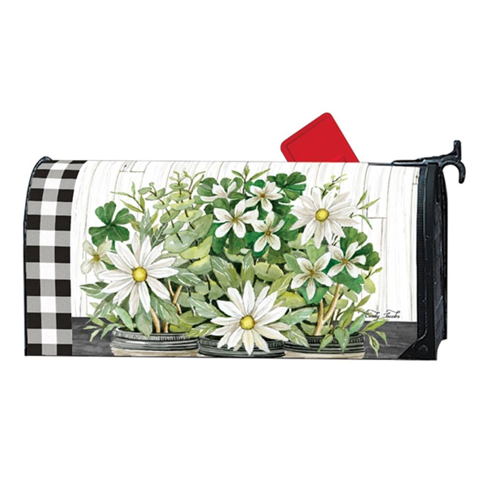 Farmhouse Daisies Large Mailwrap
