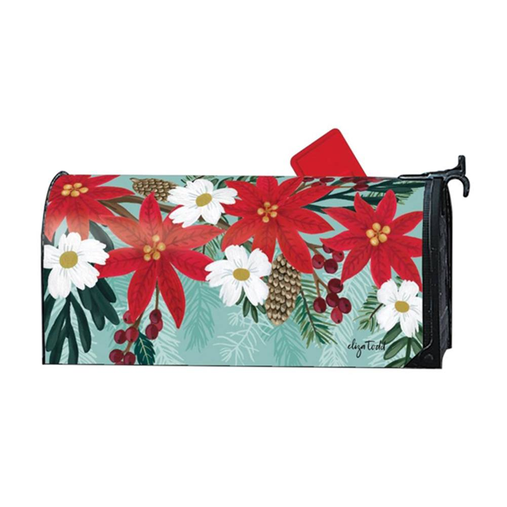 Poinsettia Bloom Large Mailwrap