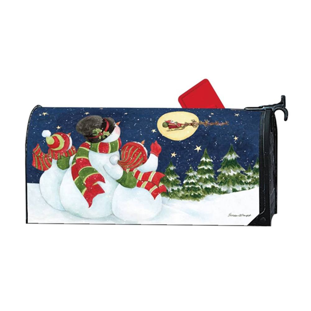 Santa Trackers Large Mailwrap