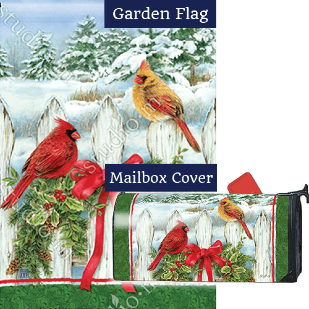 Winter Splendor Flag Mailwrap Set (2 Pieces)