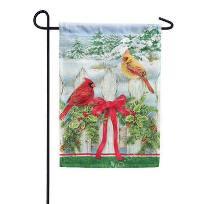 Winter Splendor Garden Flag