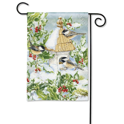 Chickadee Welcome Flag Mailwrap Set (2 Pieces)