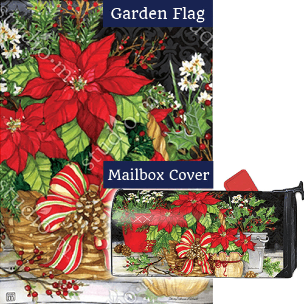 Christmas Beauty Flag Mailwrap Set (2 Pieces)