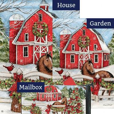 Christmas on the Farm Yard Makeover Set (3 Pieces)