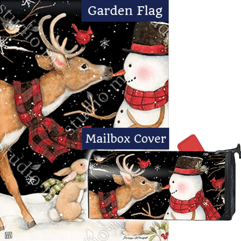 Nose to Nose Flag Mailwrap Set (2 Pieces)