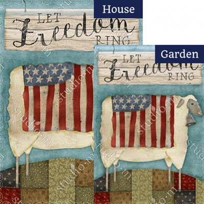 Freedom Sheep Flags Set (2 Pieces)