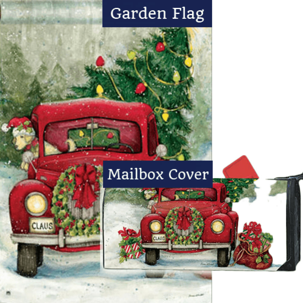 Bringing Home the Tree Flag Mailwrap Set (2 Pieces)
