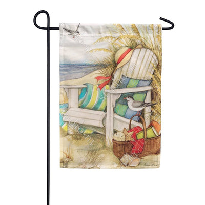 Time to Relax Garden Flag