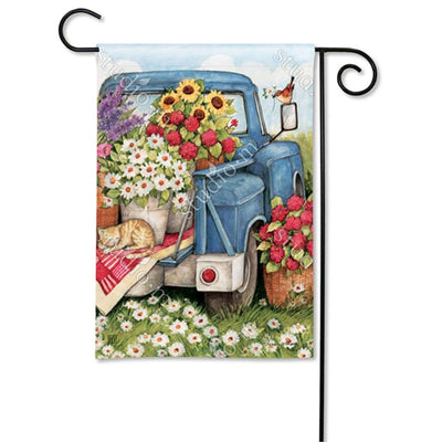 Flower Pickin' Time Flags Set (2 Pieces)