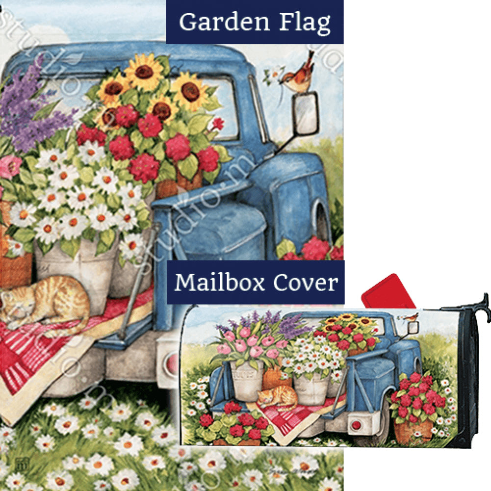 Flower Pickin' Time Flag Mailwrap Set (2 Pieces)