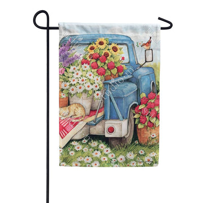 Flower Pickin' Time Garden Flag