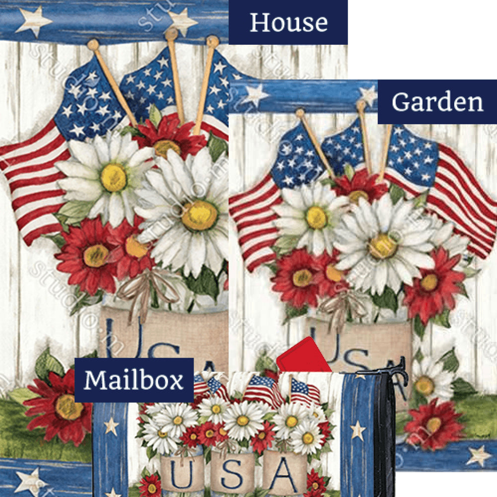 USA Mason Jar Yard Makeover Set (3 Pieces)