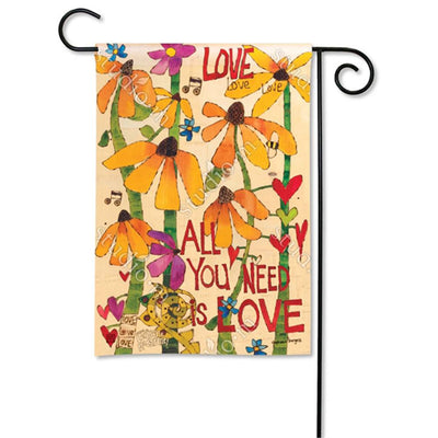 All You Need Is Love Flags Set (2 Pieces)