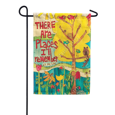 In My Life Garden Flag