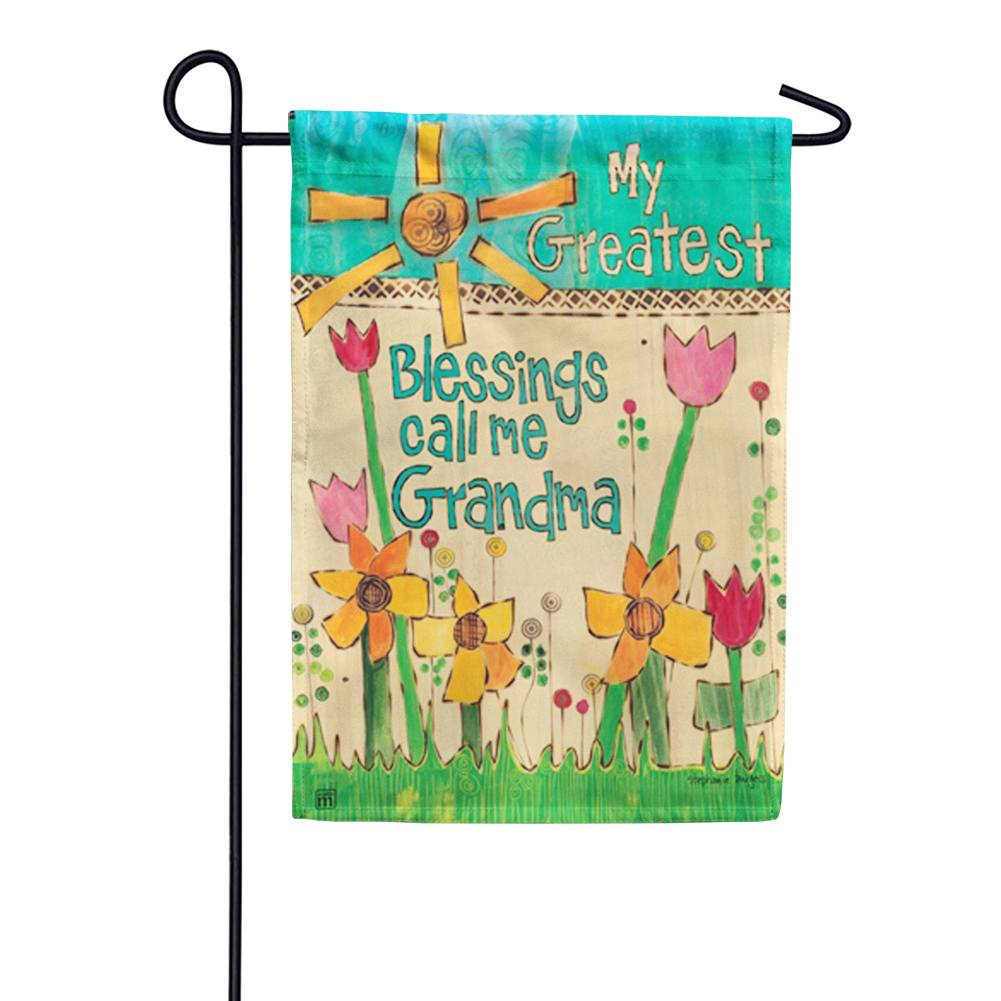 Greatest Blessings Garden Flag