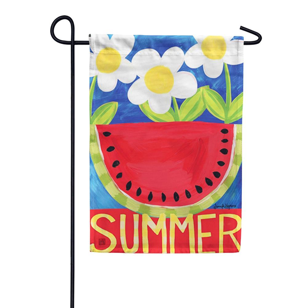 Summer Watermelon Garden Flag