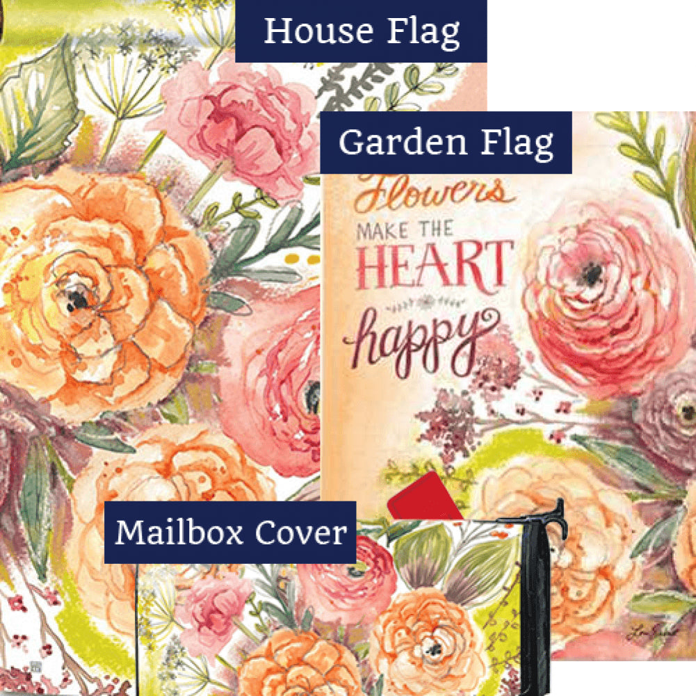 Fresh Flowers Yard Makeover Set (3 Pieces)