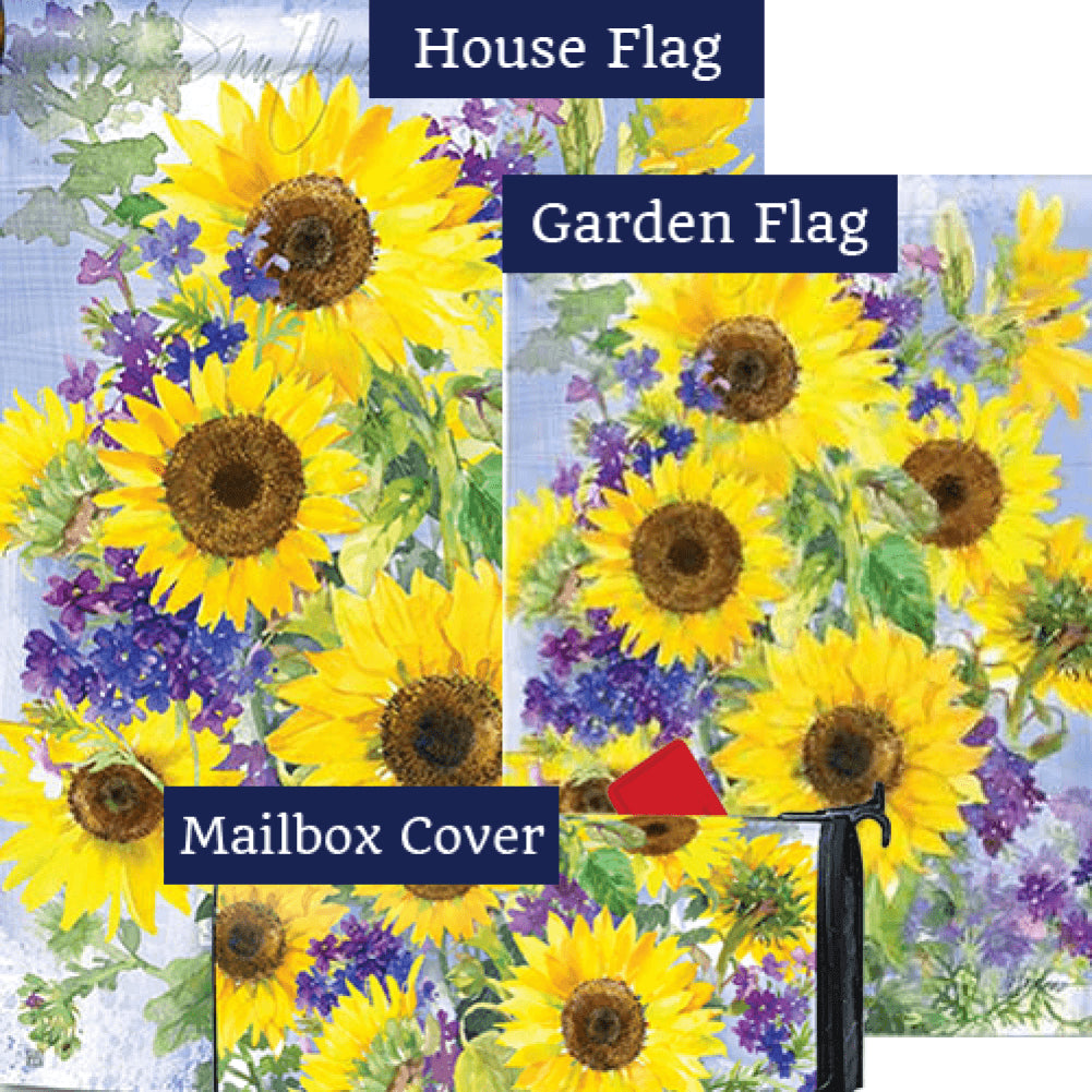 Sunflower Burst Yard Makeover Set (3 Pieces)